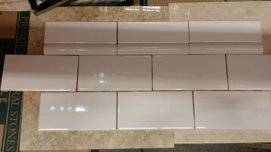 Bathroom Tile Quarter Round guest bathroom progress - keppel | tile | pinterest | subway tiles