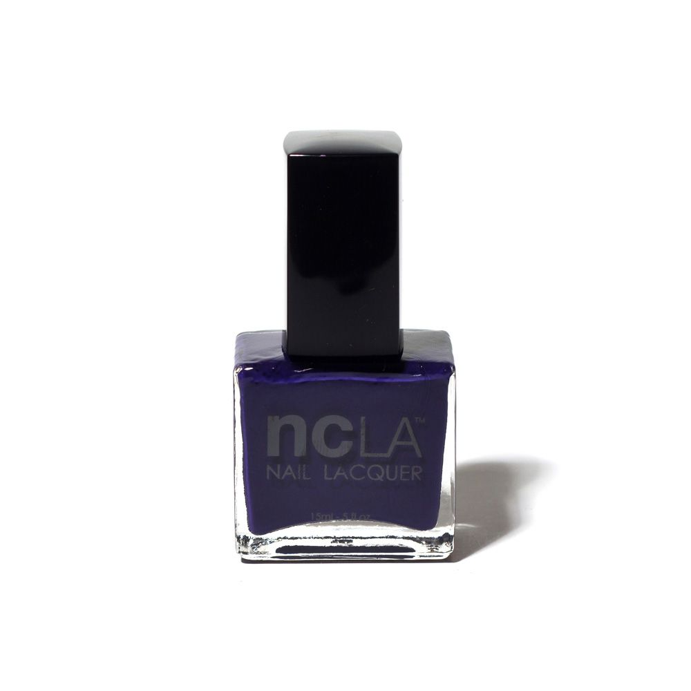 ncLA Mullholland Maneater from my FIRST LittleBlackBag.  It's a fun color, and the brush is short,  making my nail tech VERY happy. :)
