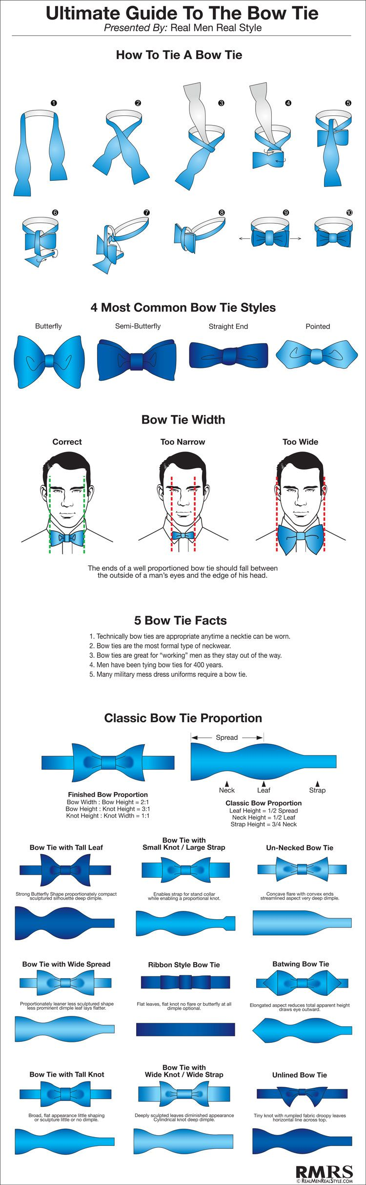 Ultimate Guide To The Bow-Tie | Bowties