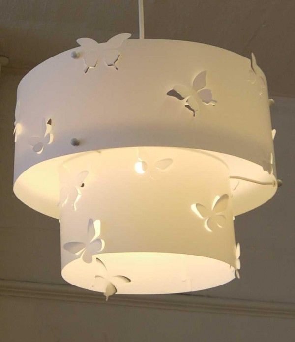 Butterfly Bathroom Ideas | ... For 10 Lampshade Modification Ideas ~ Click  To View