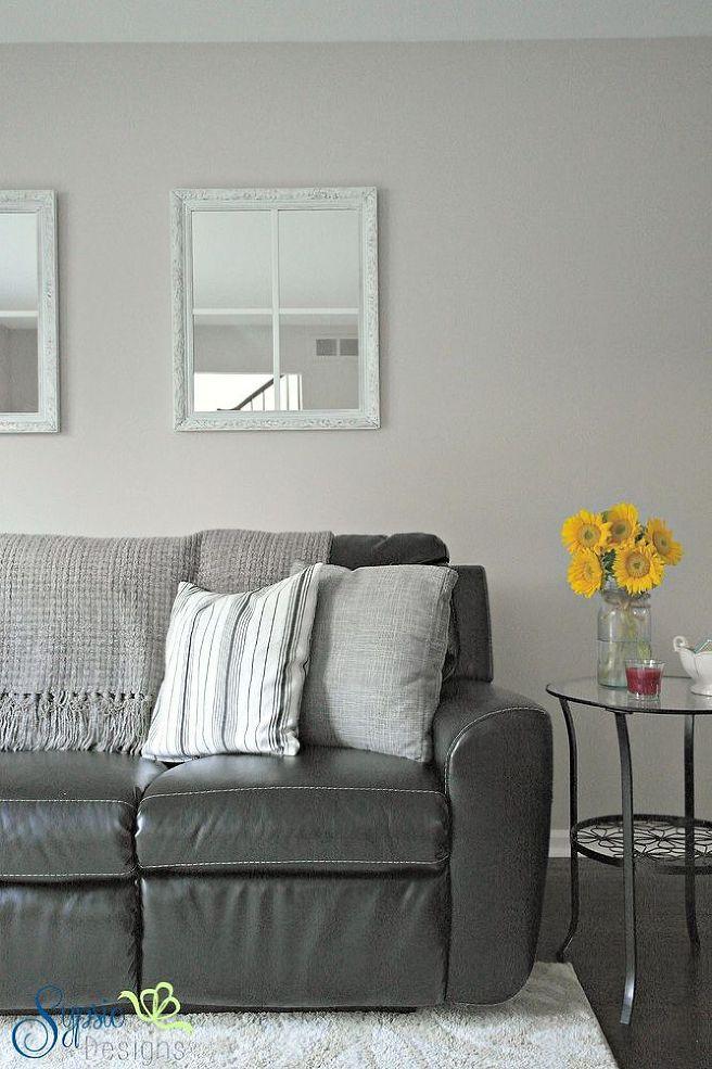ART58 WHITE MIRROR ART DECO Wall MIRROR WITH WHITE GLASS ...