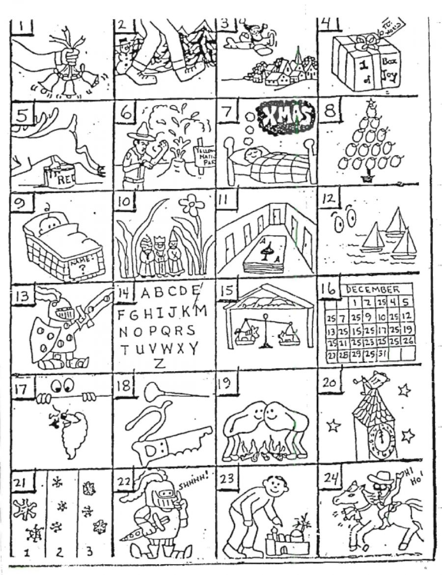 Love To Teach Christmas Rebus Puzzles – Rebus Puzzles Worksheet