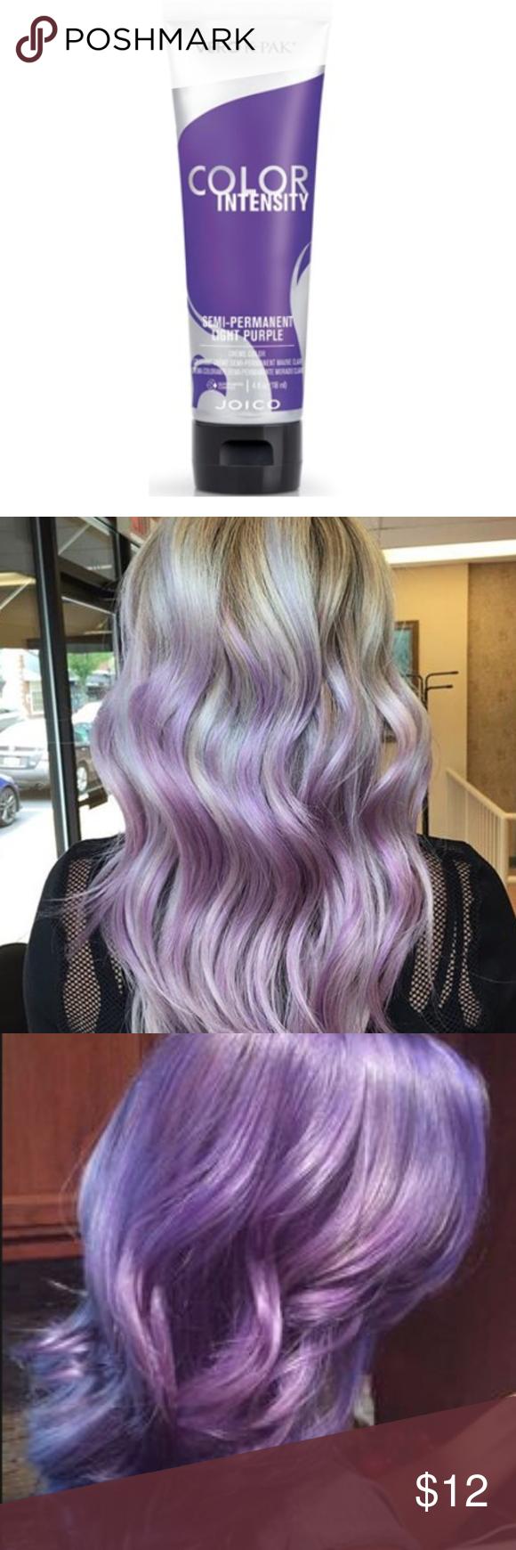 Joico Violet Semi Permanent Hair Color Lightpurple Nwt My Posh