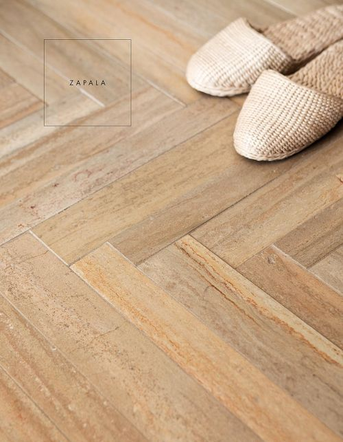 Flooring Reclaimed Bleached Wood In A