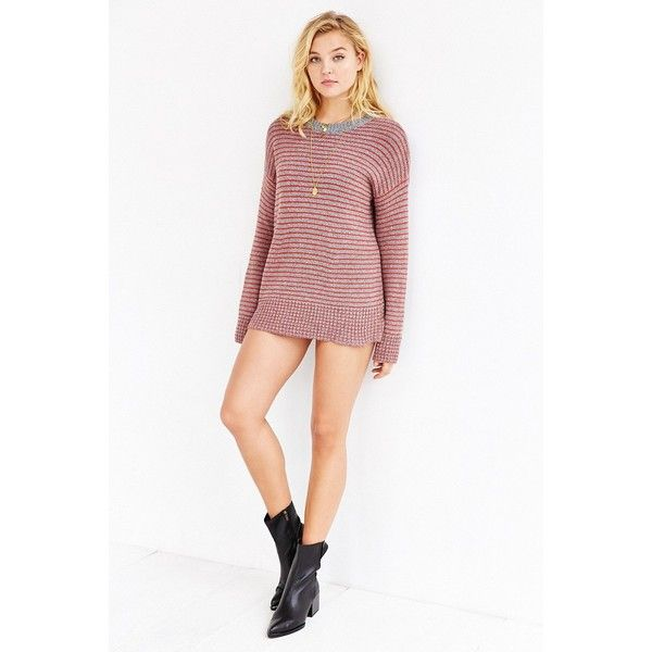 BDG Boyfriend Sweater ($69) ❤ liked on Polyvore featuring tops ...