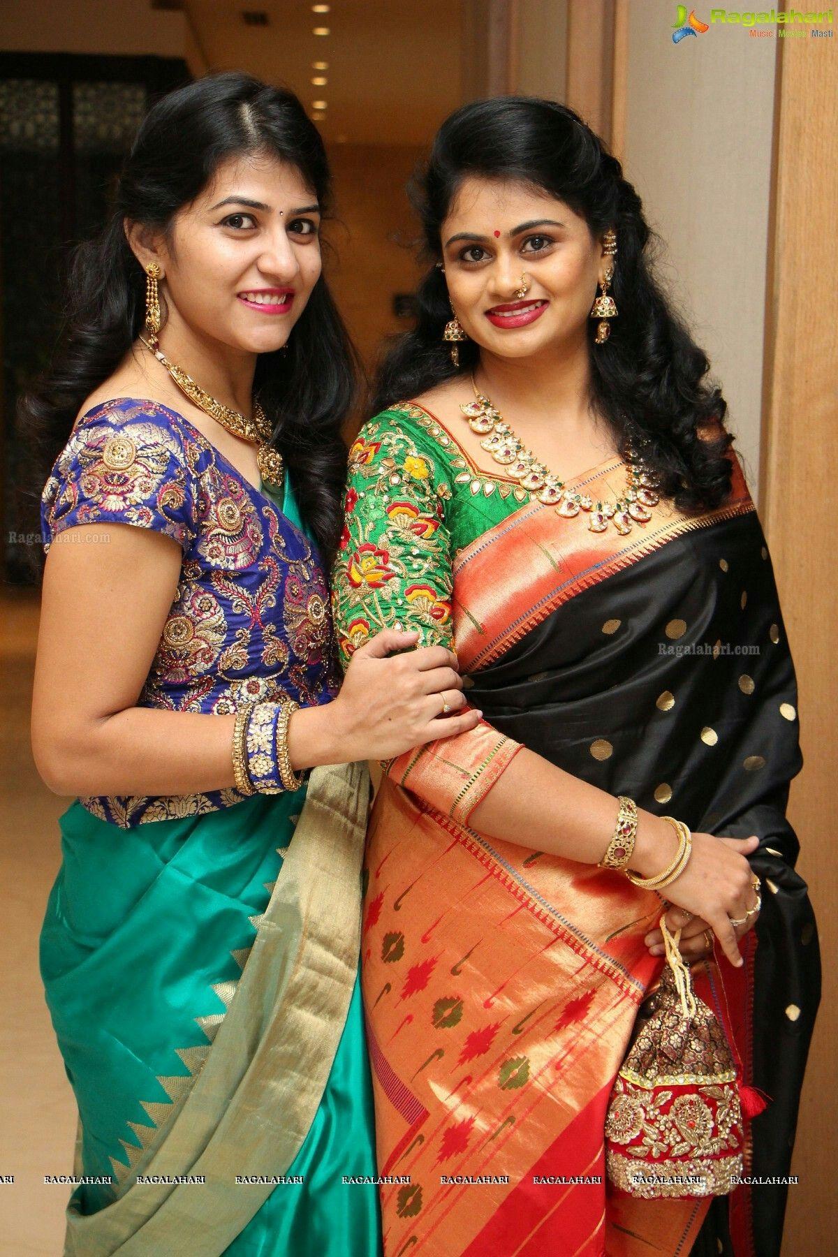 Paithani Sarees Blouse Design Models Saree Blouse Designs