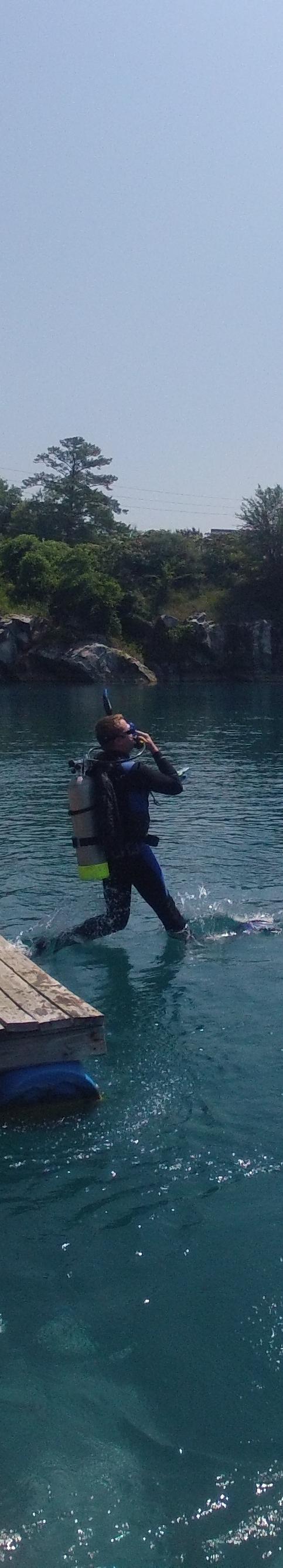 Atlanta Scuba Divers Travel To Blue Water Quarry Pelham Alabama