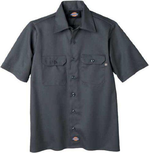 216ad0676 Dickies QS201 Boys' Twill Short Sleeve Shirt « Impulse Clothes ...