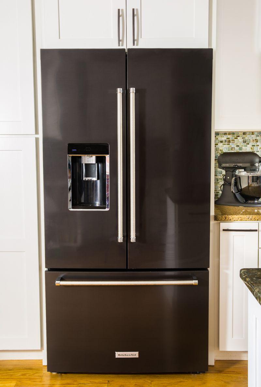 Kitchen Black Appliances: Black Stainless Kitchen Makeover