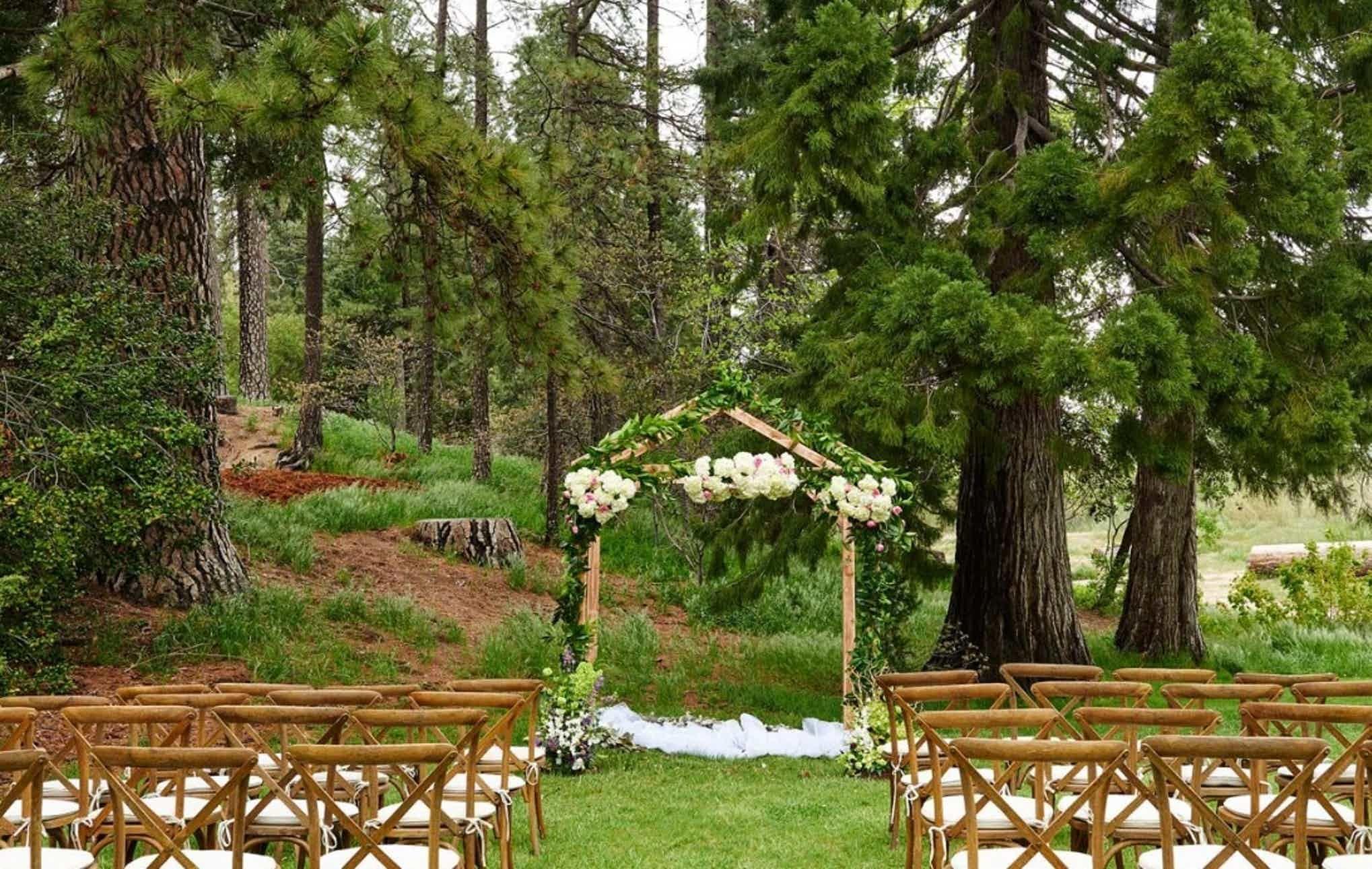 San Moritz Lodge Mountain Wedding Venue in San Bernardino