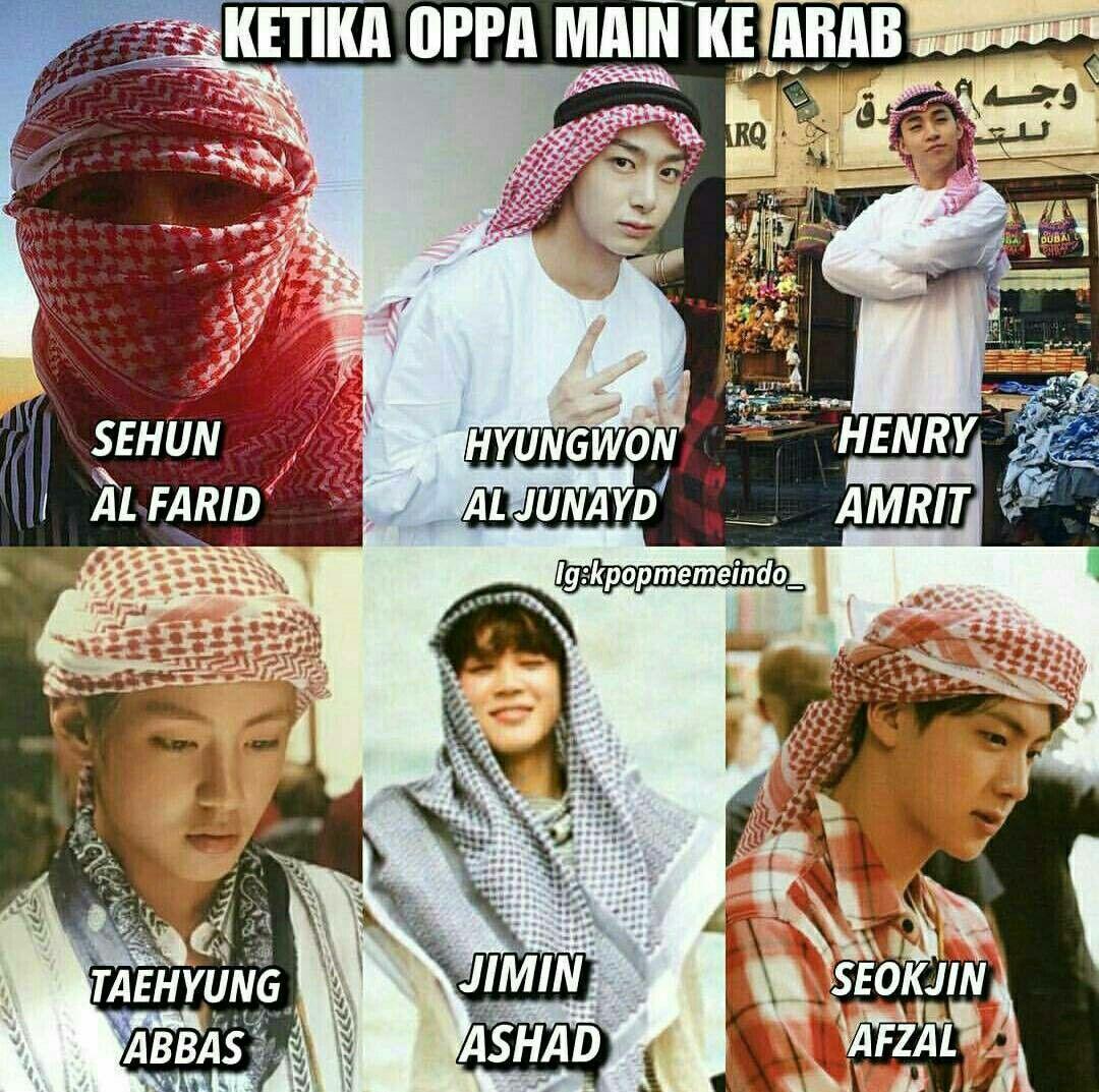 Kpop Versi Muslim Sehun