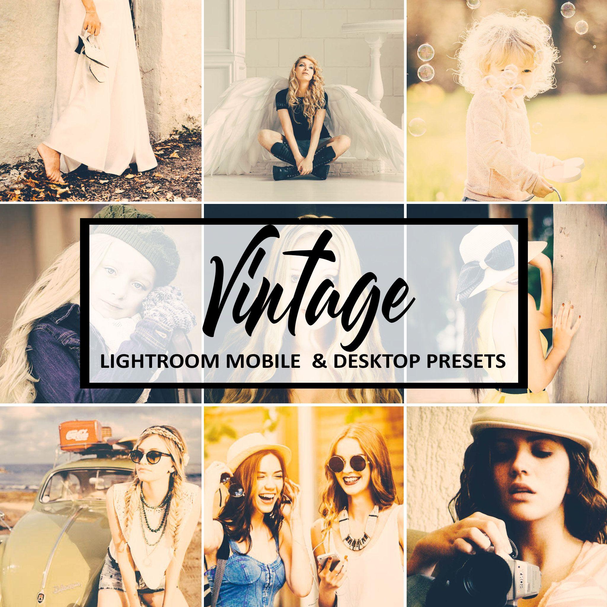 Lightroom Mobile Presets Vintage Preset Vsco Presets Warm Etsy Lightroom Lightroom Presets Presets