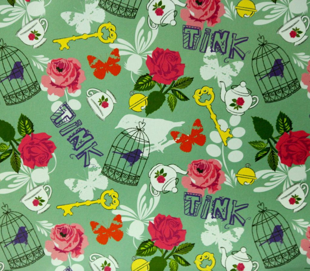 Scrapbook paper disney - Sandylion Disney Princess 12 X 12 Botanical Flat Scrapbook Paper