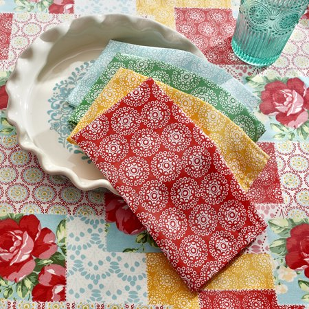Pioneer Woman *Willow* KitchenAid Mixer Cover ~ Kitchen Tablecloth Towels Decor