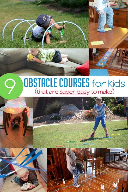 Obstacle Course For Kids Ideas That Are Super Simple Pe