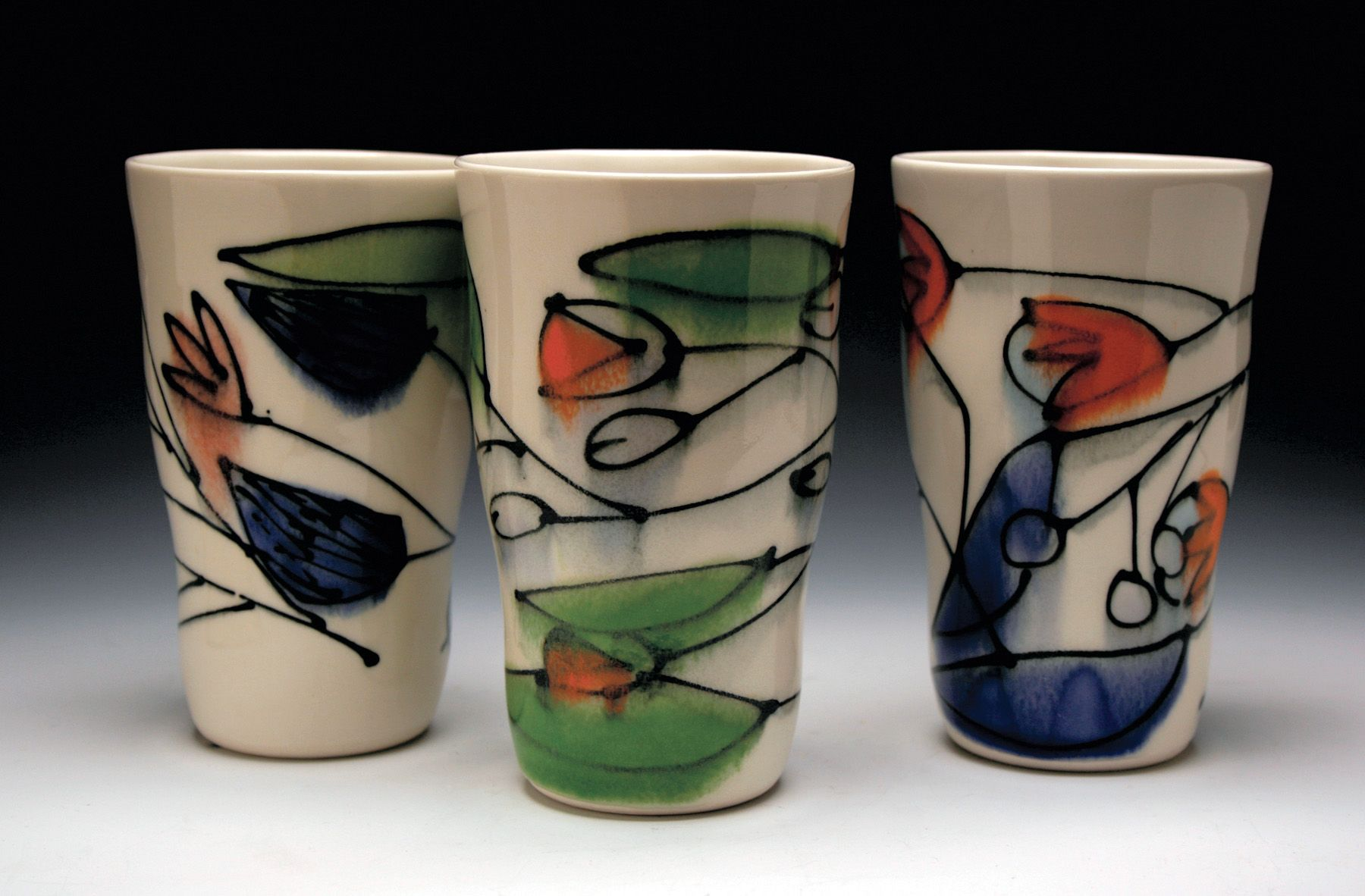 Naomi Cleary S Tumblers Naomi S Studio Is Located In Philadelphia Pennsylvania Cleary Was Selected As One Of Cera Ceramic Arts Daily Ceramics Monthly Potter