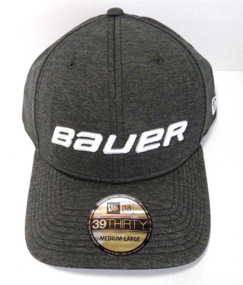 984d93db43ee3 Bauer - New Era 39Thirty Shadow Tech Gray Cap - Sr
