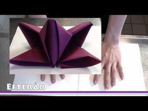 Pliage De Serviette En Papier Fleur De Lys Comment Faire Des