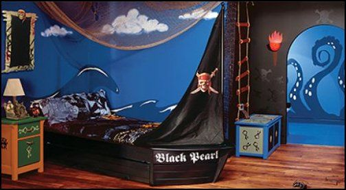 Disney Pirates Bedroom Ideas