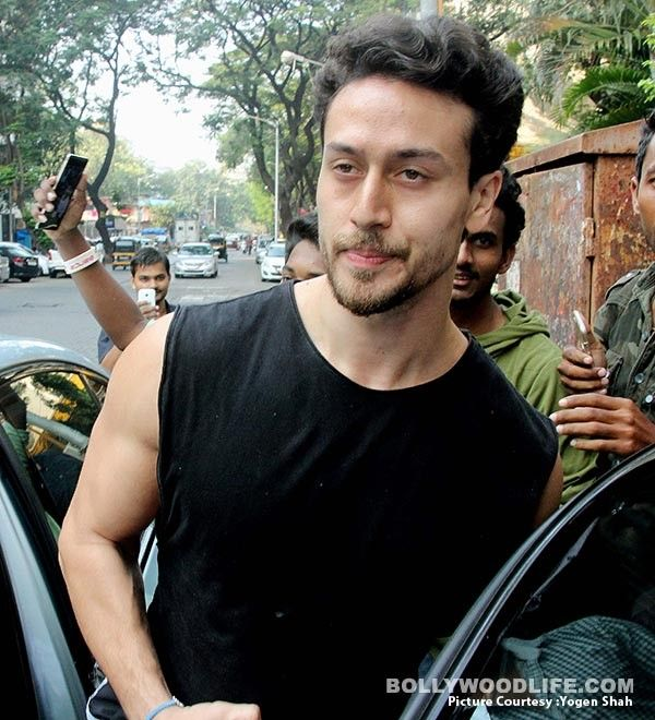 Tiger Shroff Snapped Outside New Look Baaghi2 Movie Dashing