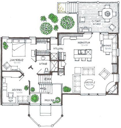 Split level house plans at house design plans for Www eplans