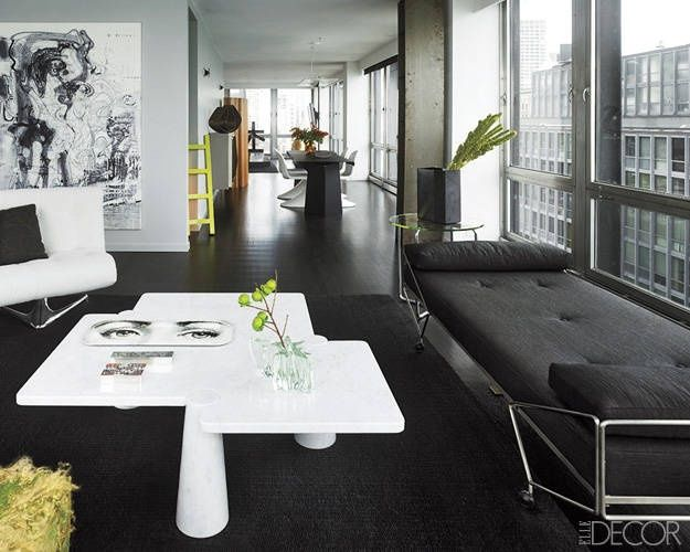 20 Black Rooms With A Rare Sense Of Understated Panache  - ELLEDecor.com
