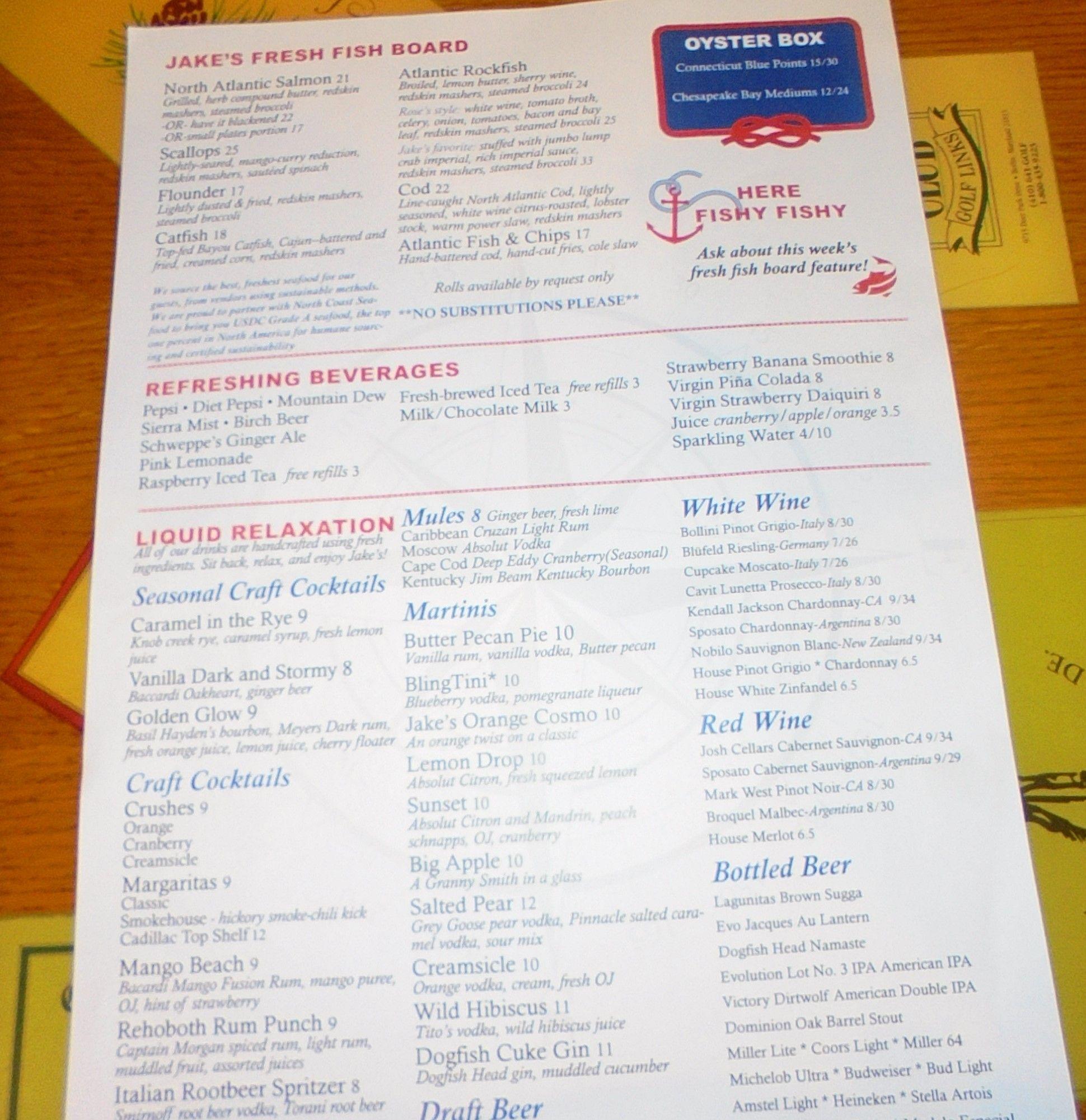 #jakesseafood #restaurant in #RehobothBeachDelaware - http://www.drewrynewsnetwork.com