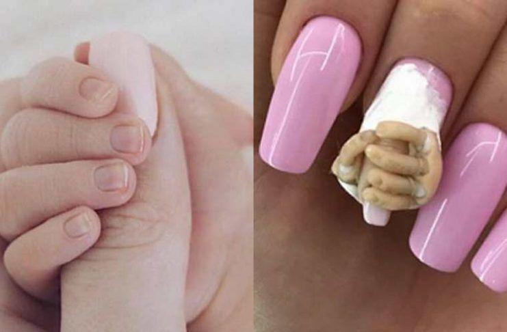 El nail art inspirado en Stormi que se está generando polémica en ...