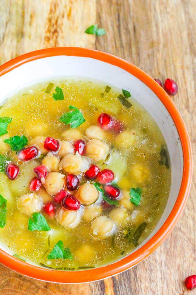 Greek Chickpea Soup Revithosoupa