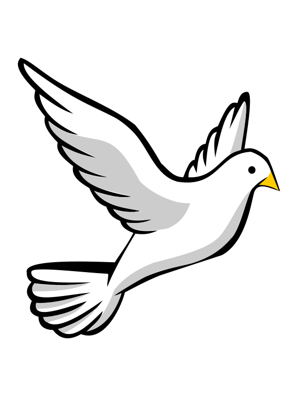 Animals For Dove Peace Png Dove Pictures Silhouette Clip Art Dove Drawing