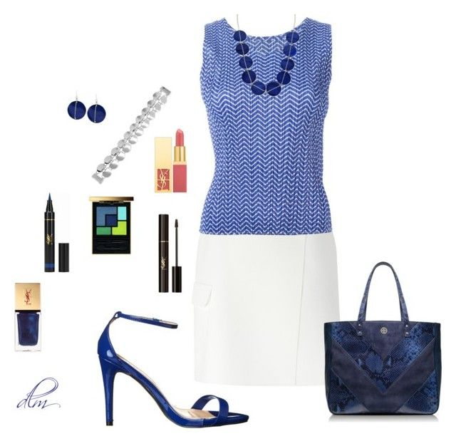 """""""Blue"""" by dmiddleton ❤ liked on Polyvore"""