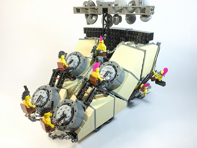 Lego Doof Wagon Drums