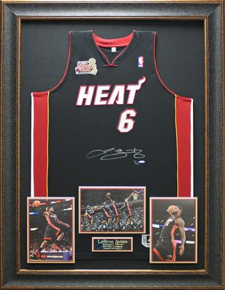 856017526 Lebron James Signed Jersey Framed Limited Edition