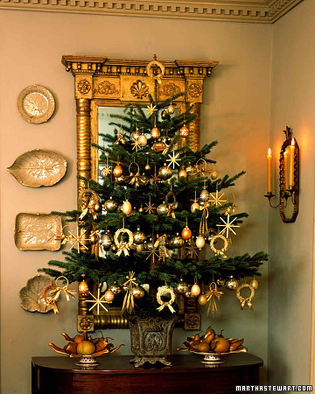 Tabletop trees creative christmas trees martha stewart and polish tree creative christmas tree decorating ideas martha stewart living in poland where biocorpaavc Images