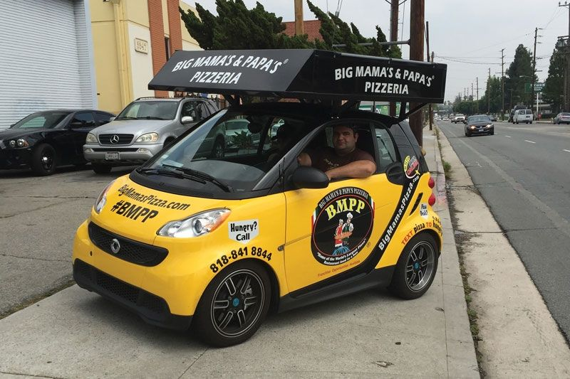 License To Advertise Discover The Marketing Power Of Your Delivery Vehicles The Marketing Big Pizza Pizza Delivery