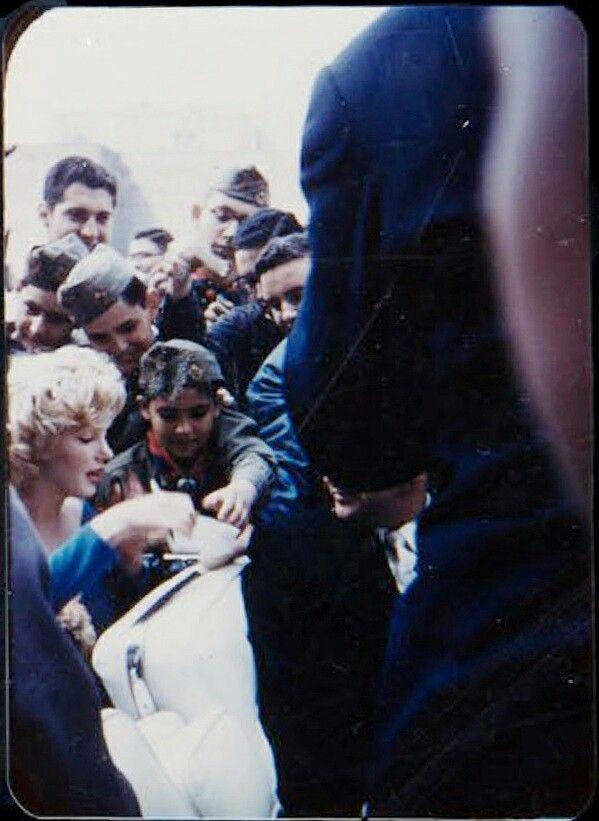 Marilyn at Ebbets Field 1957