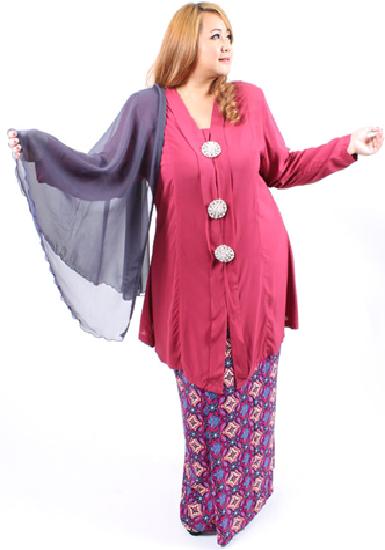 Model Kebaya Modern Untuk Orang Gemuk Pendek Yenni Sari In 2019