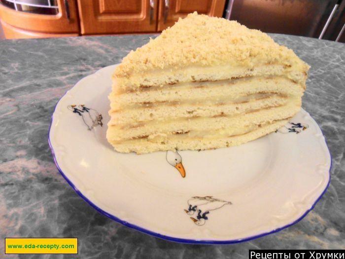 рецепт торт проще простого с фото