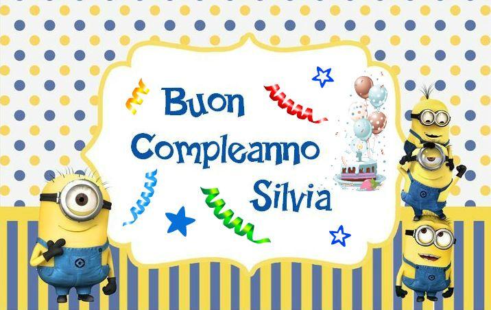 Buon Compleanno Silvia   Compleanni Onomastici e Anniversari