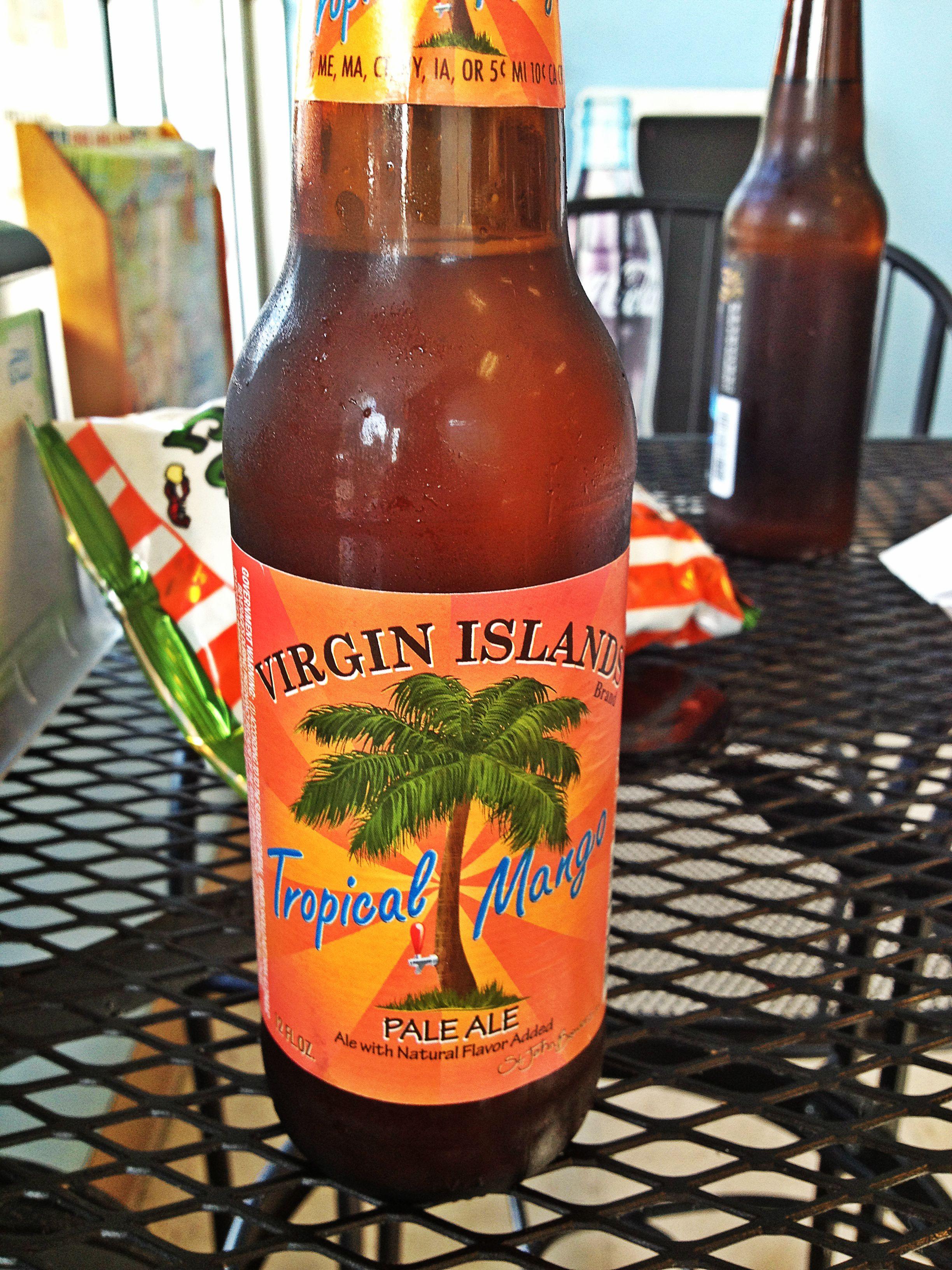 6 Virgin Islands Tropical Mango Pale Ale Manzano S Beachside Deli New Smyrna Fl Beer Ale Beer Drinker