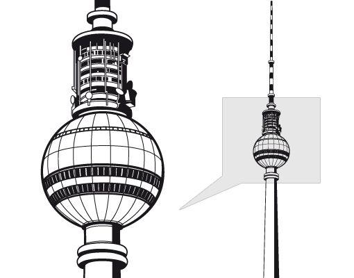 Berlin Fernsehturm Vector Free   BERLINGERMAN