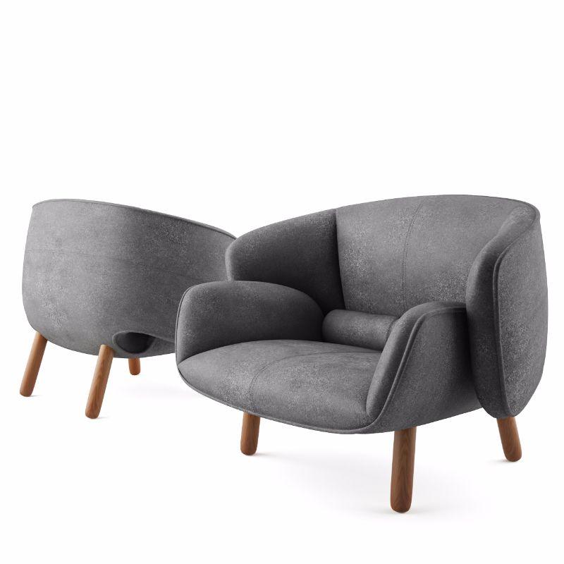 Möbel Boconcept 3d model fusion chair by boconcept 3d models