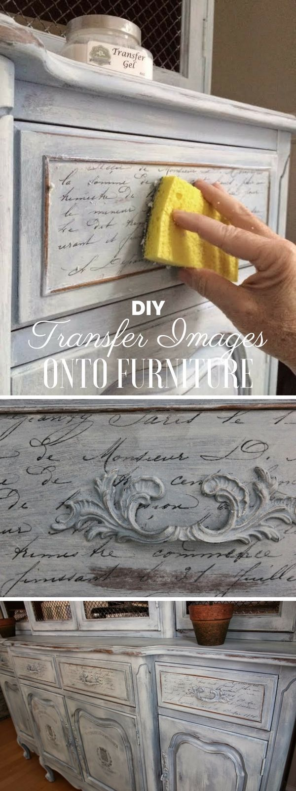 awesome Check out the tutorial: Transfer Images onto Furniture Industry Sta... -