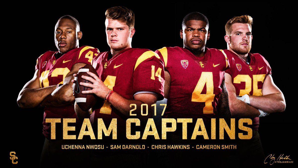Cameron Smith USC Trojans Football Jersey - Cardinal