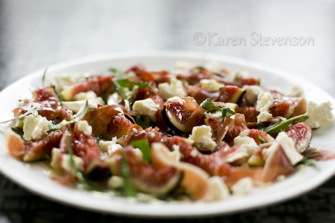 Fig And Goat Cheese Salad  Fresh Figs Are Like Manna From