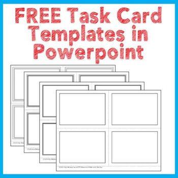 blank task card template.html