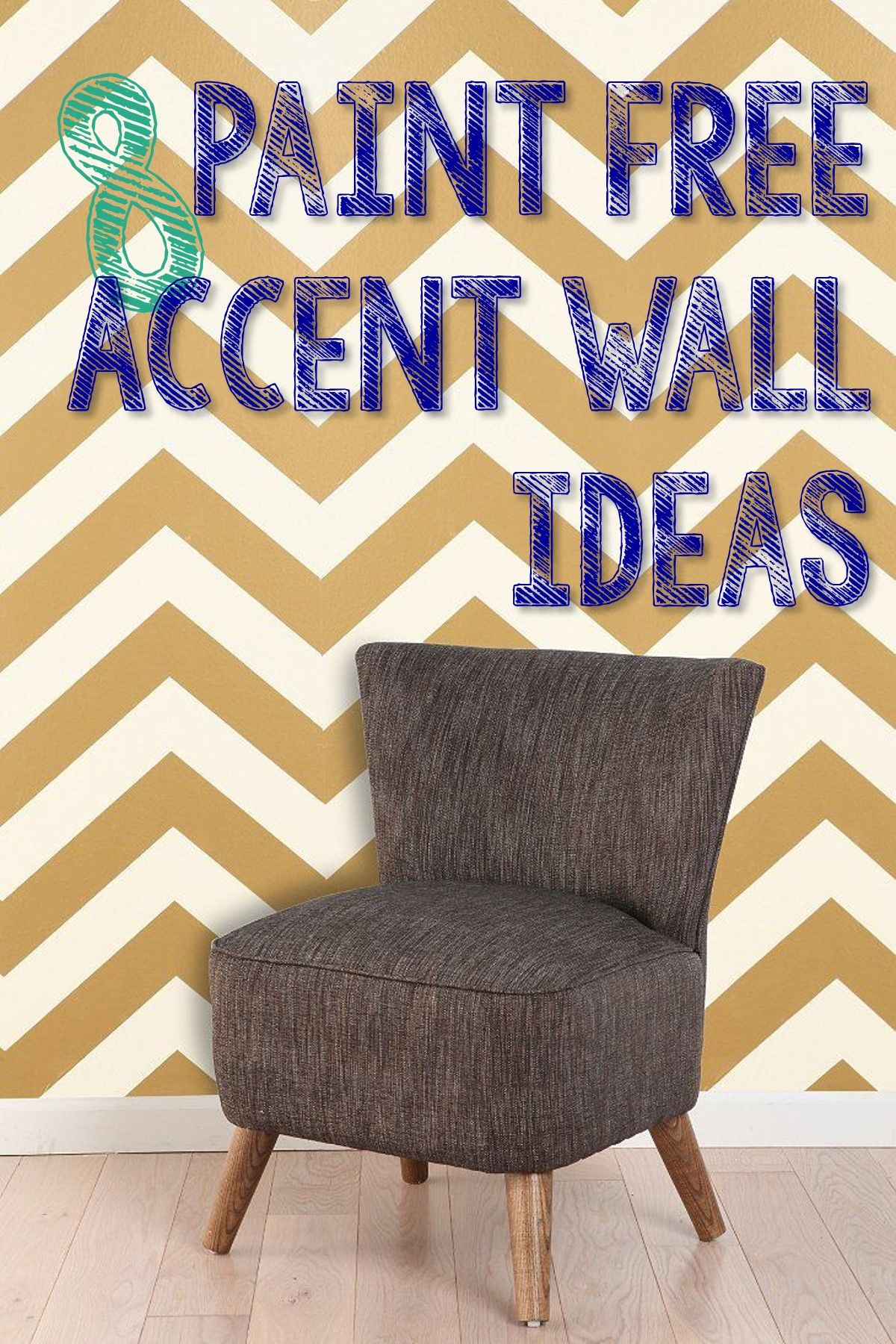 8 paint free accent wall ideas decor home decor home diy on accent wall ideas id=30012