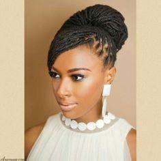 Senegalese twist updos google search wedding hair pinterest twist hairstyles senegalese twist updos pmusecretfo Gallery