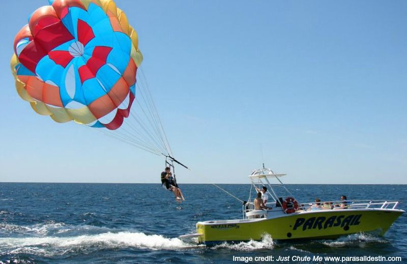 Parasailing in destin florida 6 tips for a great flight