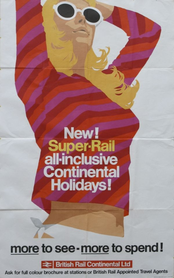 British Rail travel poster.